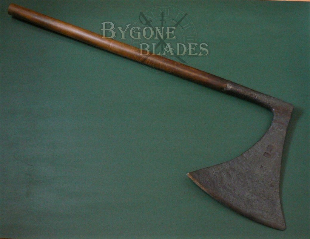 16th Century Executioners Axe. Headsmans Axe   Bygone Blades