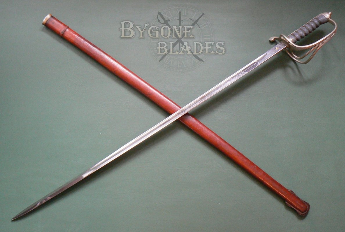 British P1821 Ww1 Royal Artillery Officer S Sword By Mole