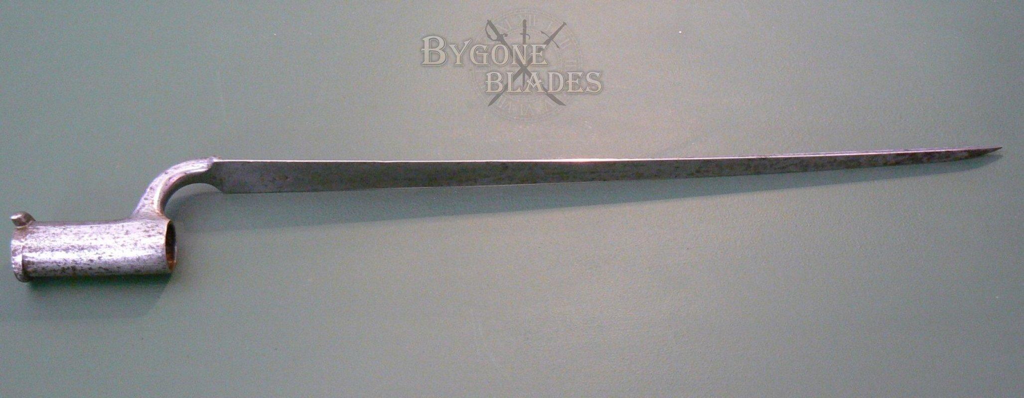 British P1842 Lovell Catch Socket Bayonet Bygone Blades