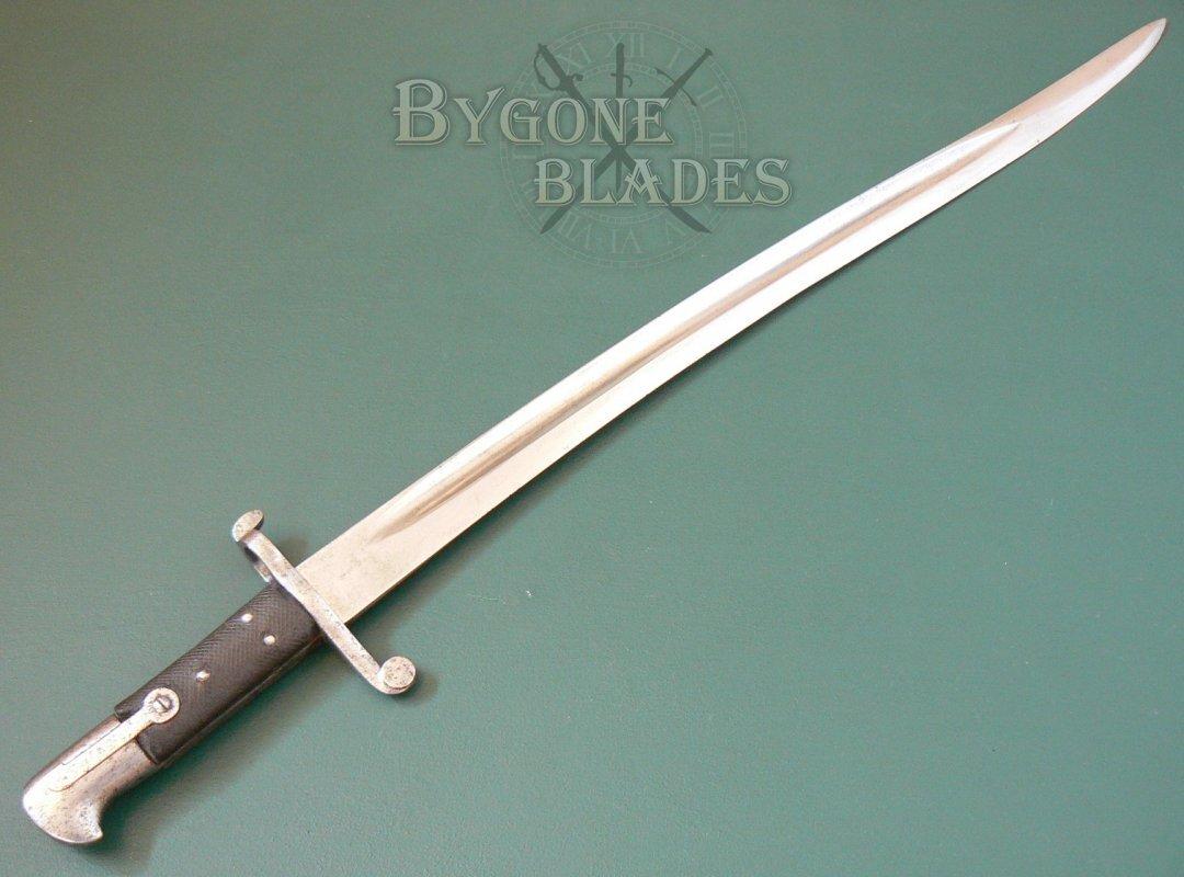 British Pattern 1856/58 Enfield Sword Bayonet | Bygone Blades