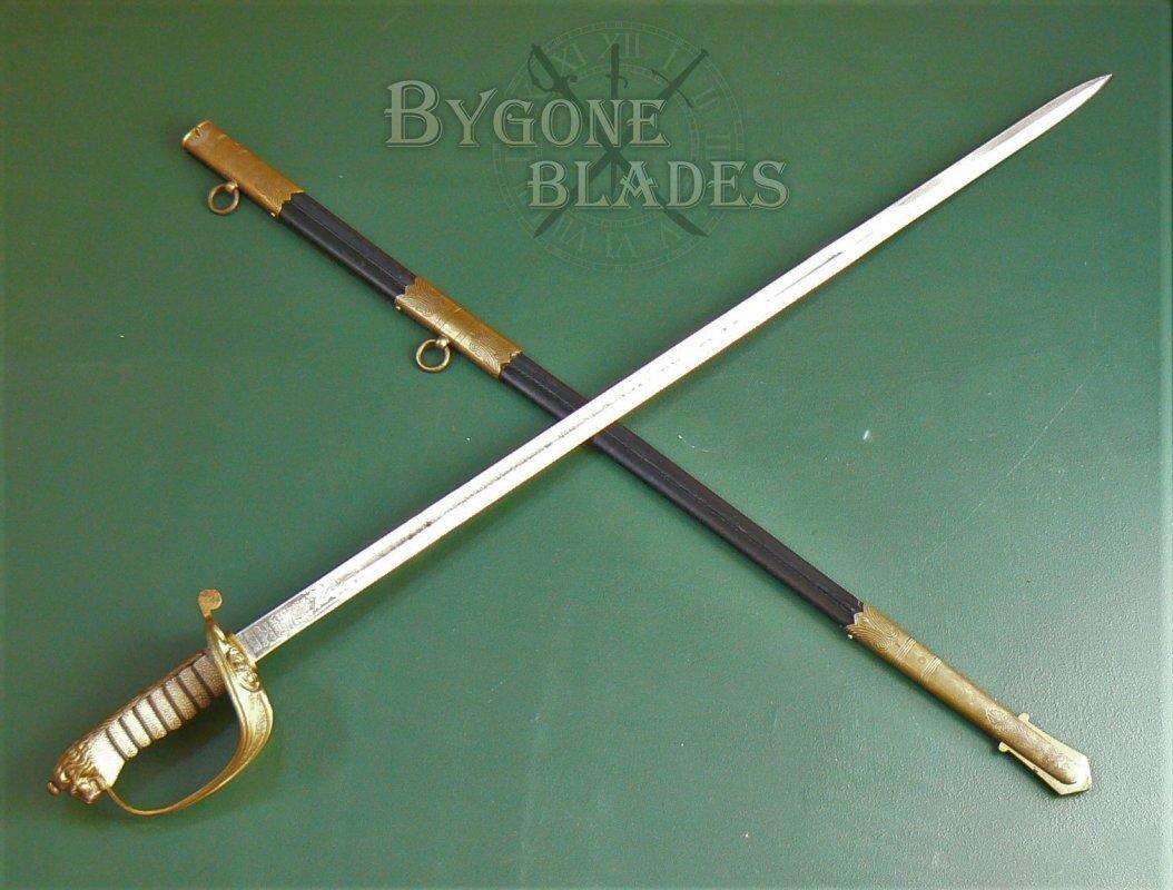 Royal navy officers sword