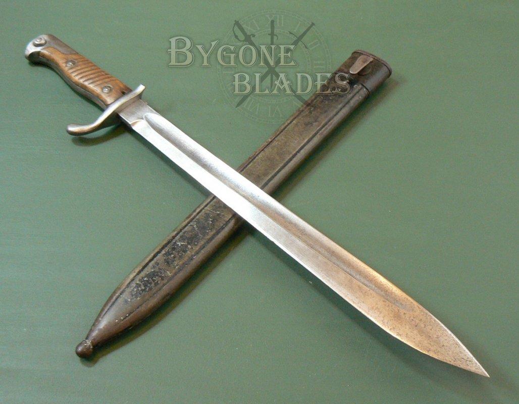 German Ww1 S98 05 First Pattern Bayonet Bygone Blades