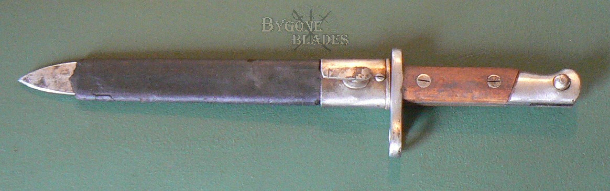 Spanish M1893 Mauser Bayonet | Bygone Blades