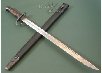 British P1907 First Pattern Hooked Quillon Bayonet  Enfield 1912